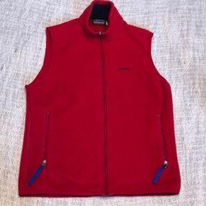 Patagonia synchilla fleece vest small - vintage